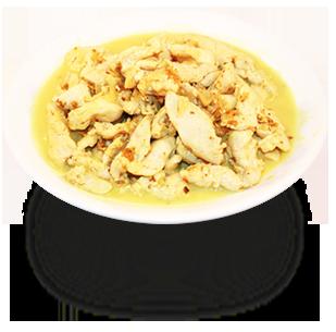 Цыпленок в кокосовом молоке с арахисом