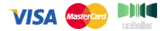 Принимаем оплату картами VISA и MasterCard